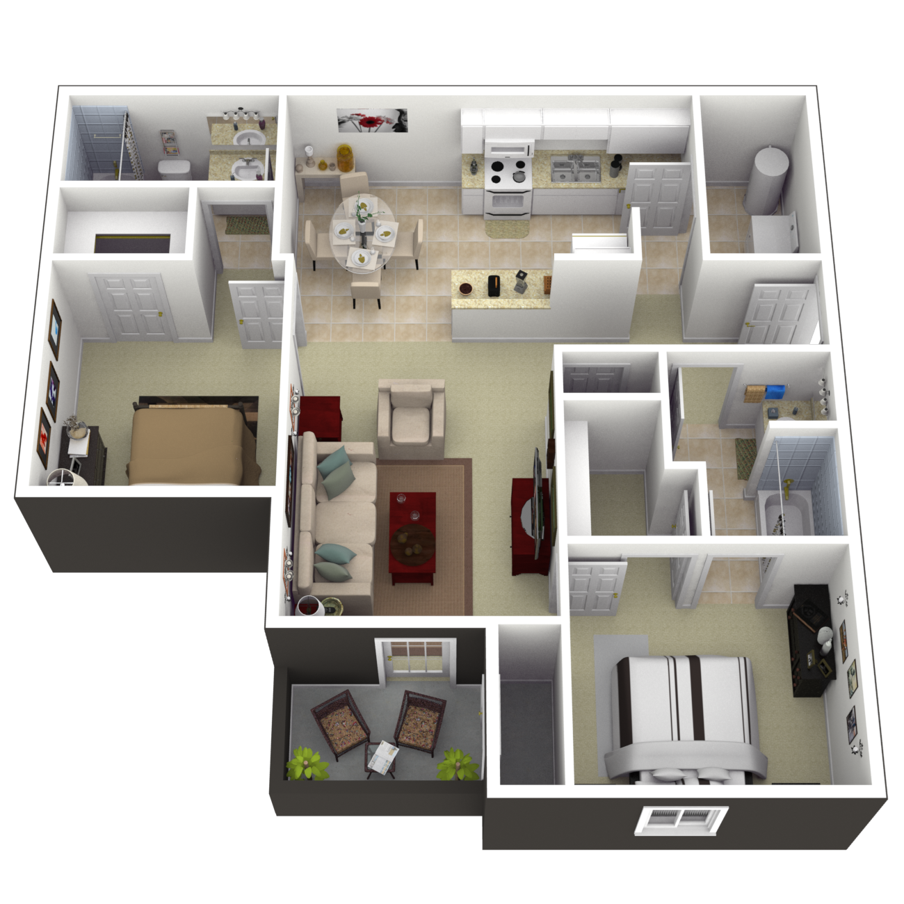 The Dillsboro Floor Plan 2