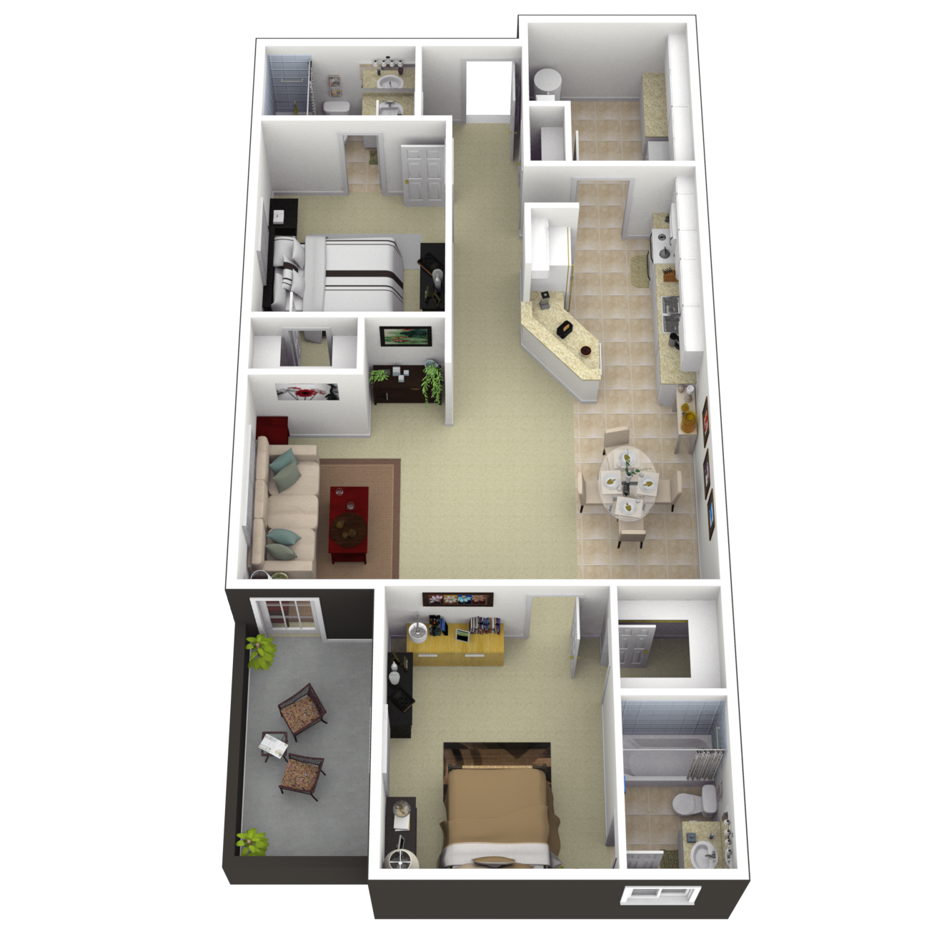 The Fairview Floor Plan 3