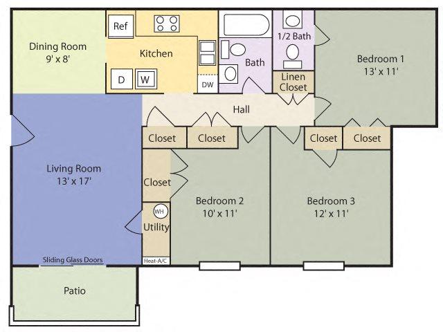 The Pine Floor Plan 5