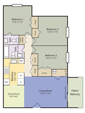 The Delta Floor Plan 4