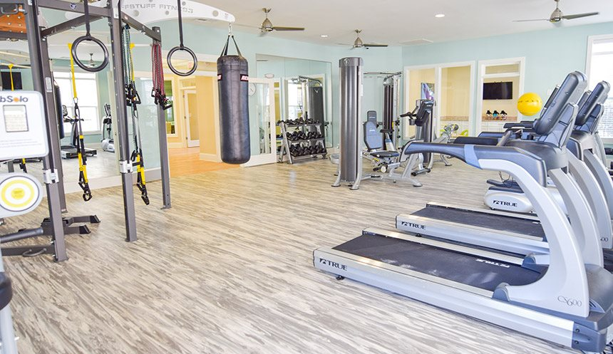 Huge 24-Hour Club Quality Fitness Center with Health Hub
