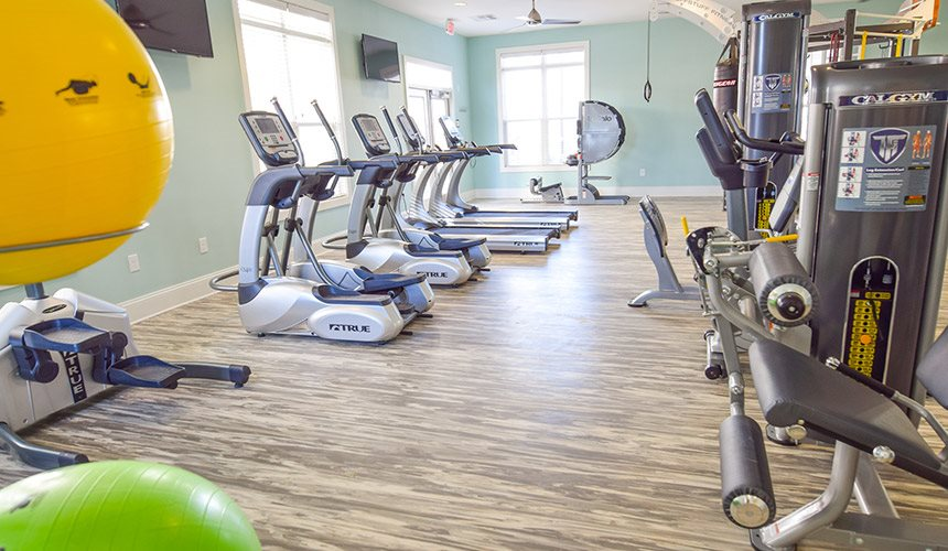 Fitness Center at Hawthorne at the Summit, Ooltewah, Tennessee