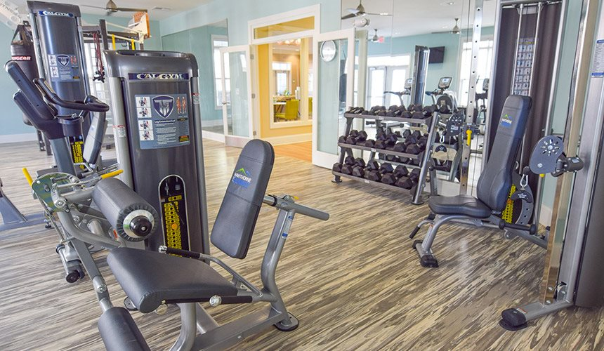 Fitness Center at Hawthorne at the Summit, Ooltewah