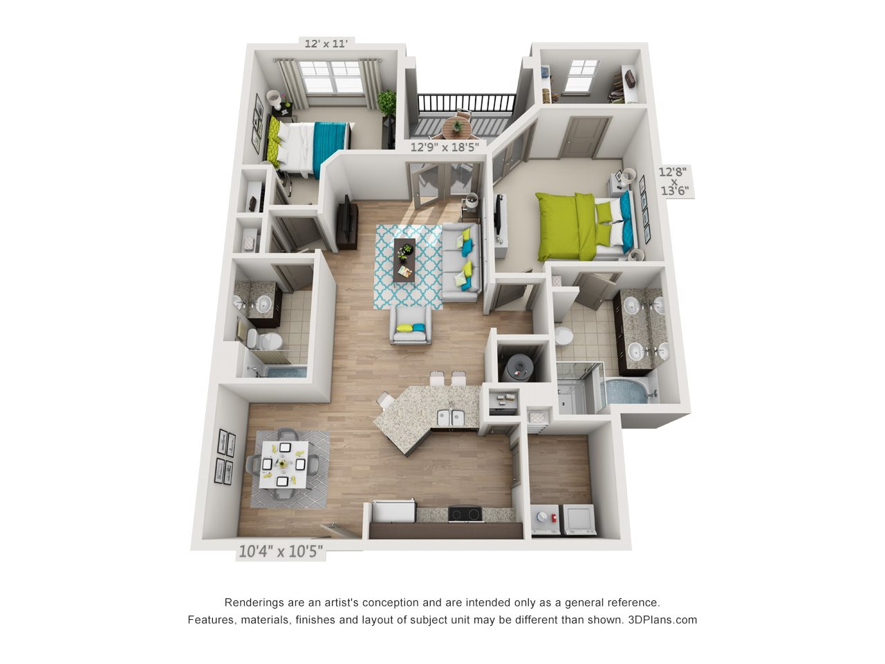 The Coolidge Floor Plan 5
