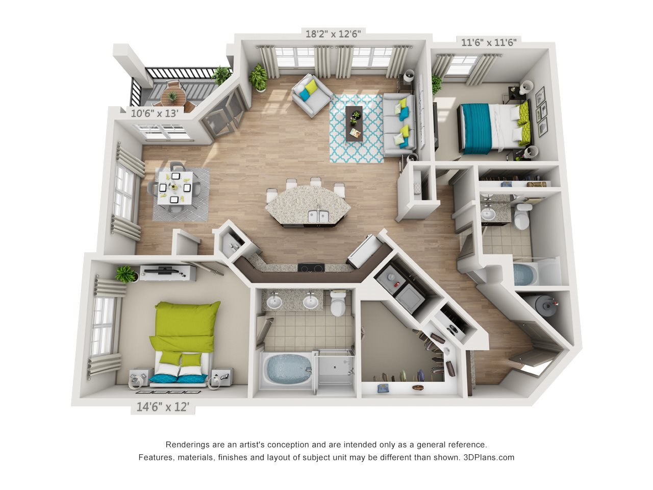 The Greenway Floor Plan 10