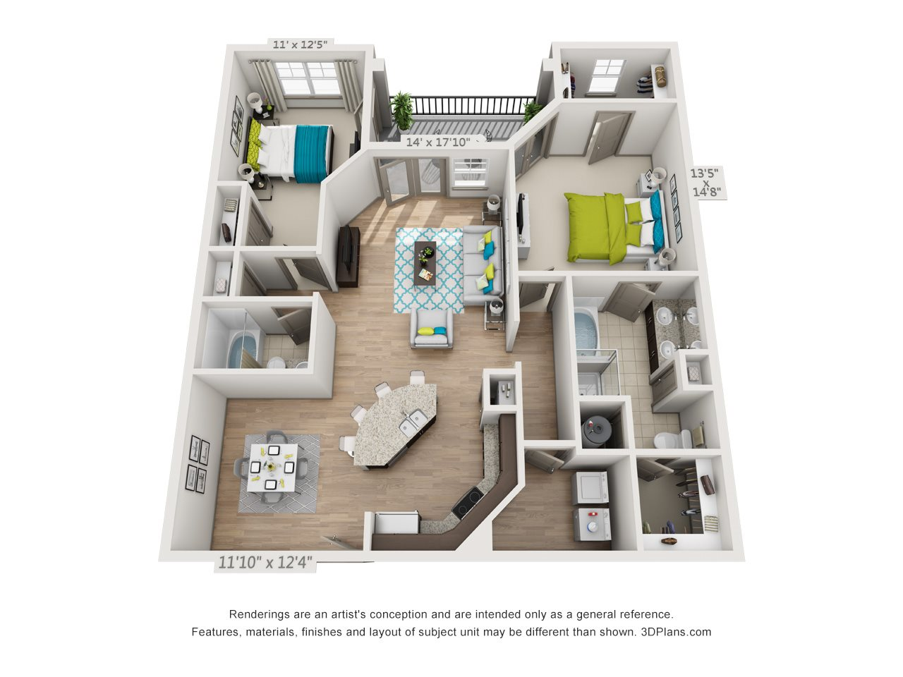 The Hunter Floor Plan 9