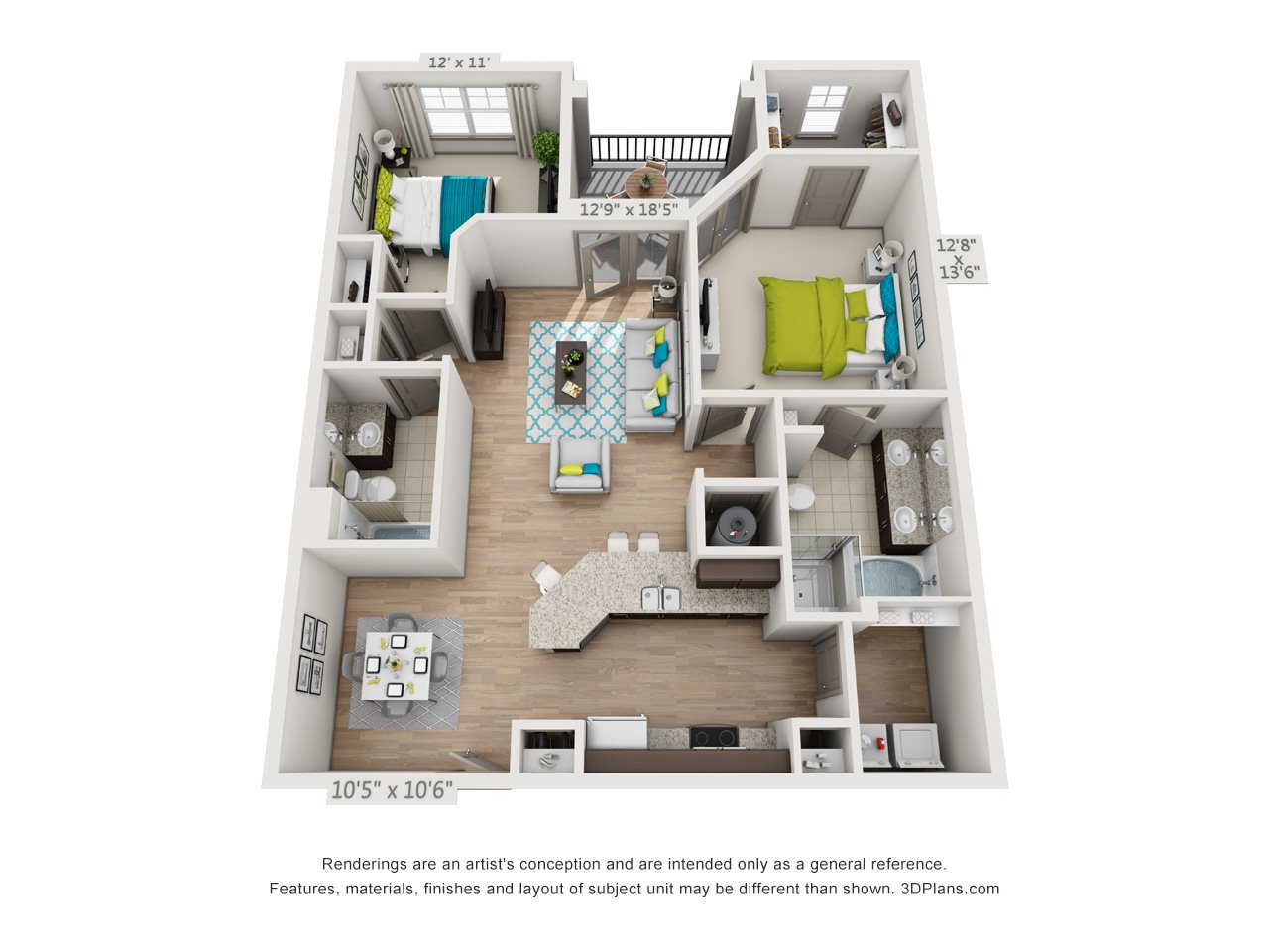 The Belvoir Floor Plan 8