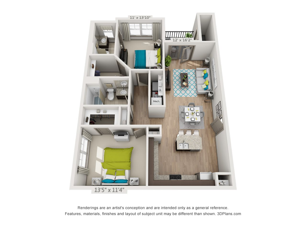 The Ruby Floor Plan 4