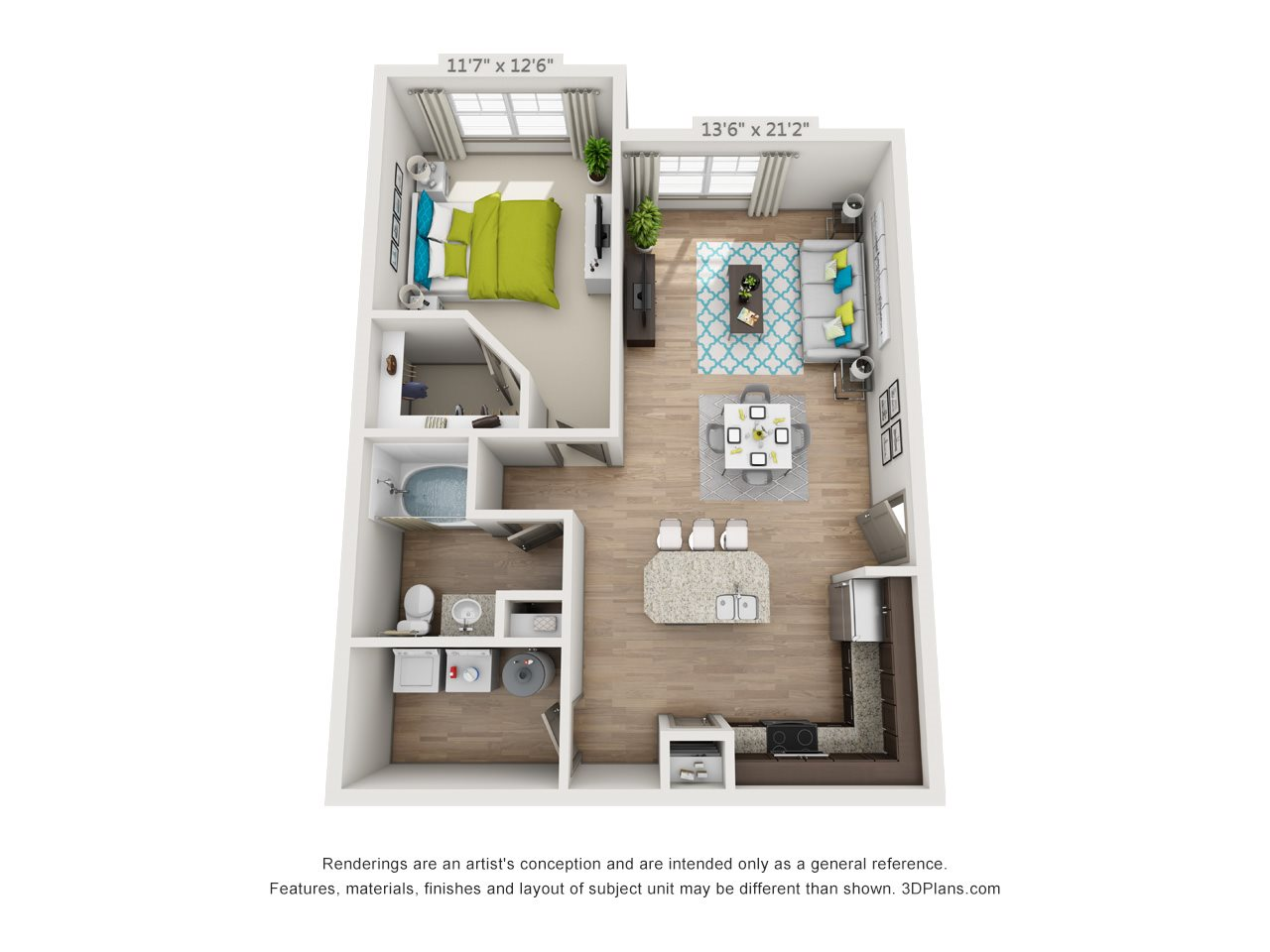 The Cumberland Floor Plan 2