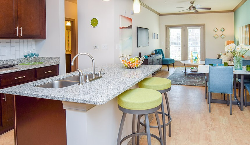 Kitchen at Hawthorne at the Summit, Ooltewah