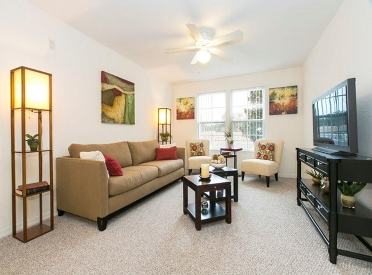 Landstar Park Apartments for rent in Orlando, FL. Make this community your new home or visit other Concord Rents communities at ConcordRents.com. Living room