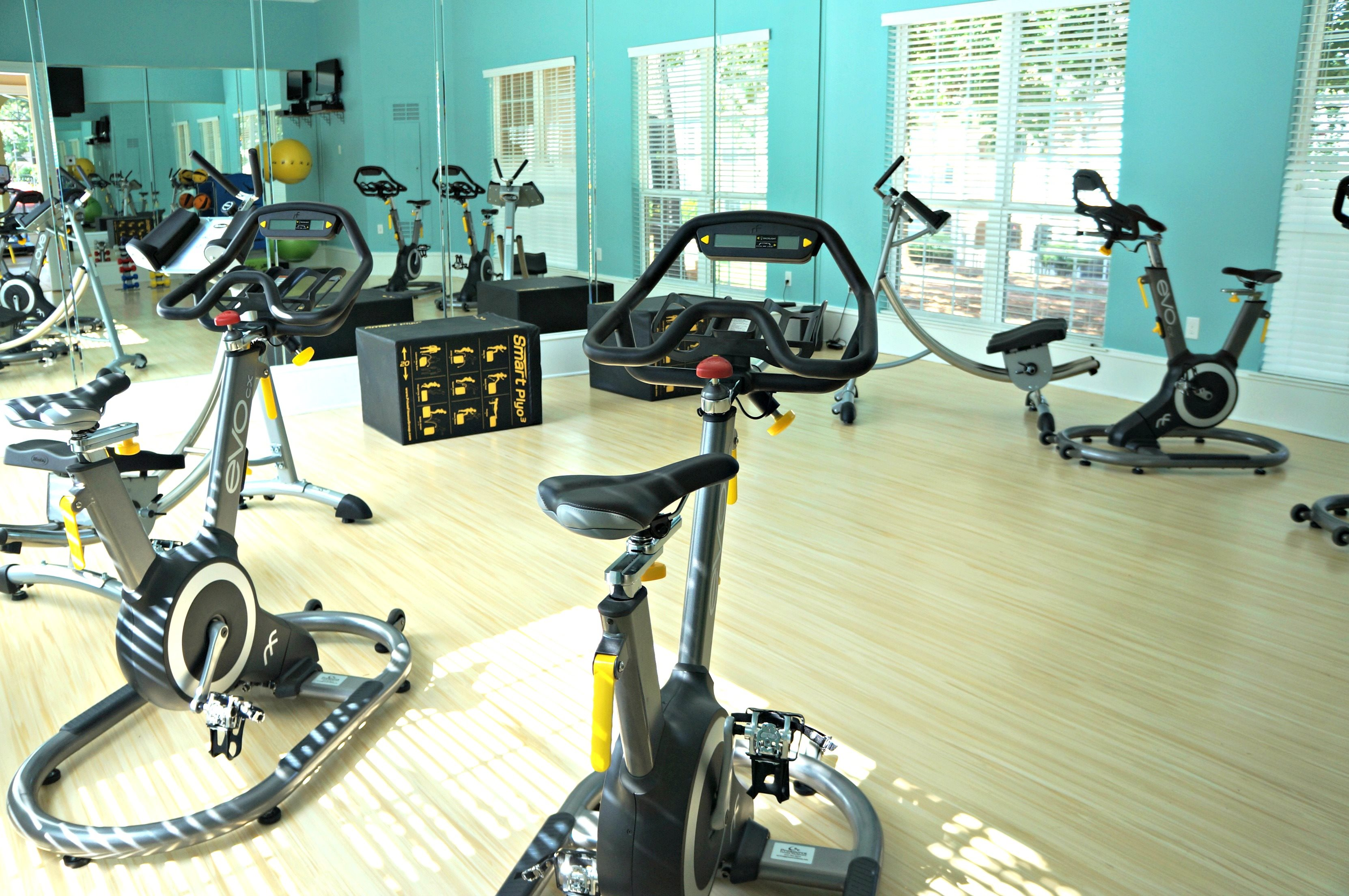Fitness Center at Hawthorne at the Carlyle