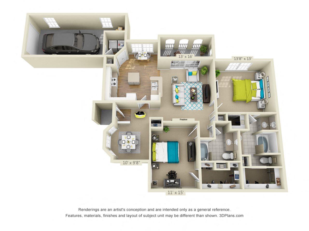 Davenport Floor Plan 6