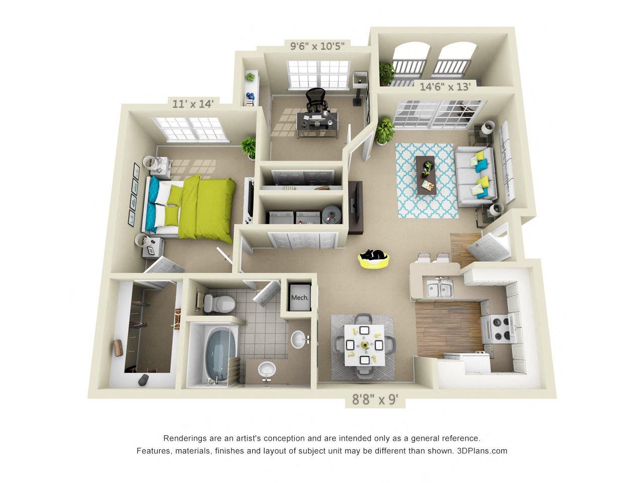 Liberty Floor Plan 2