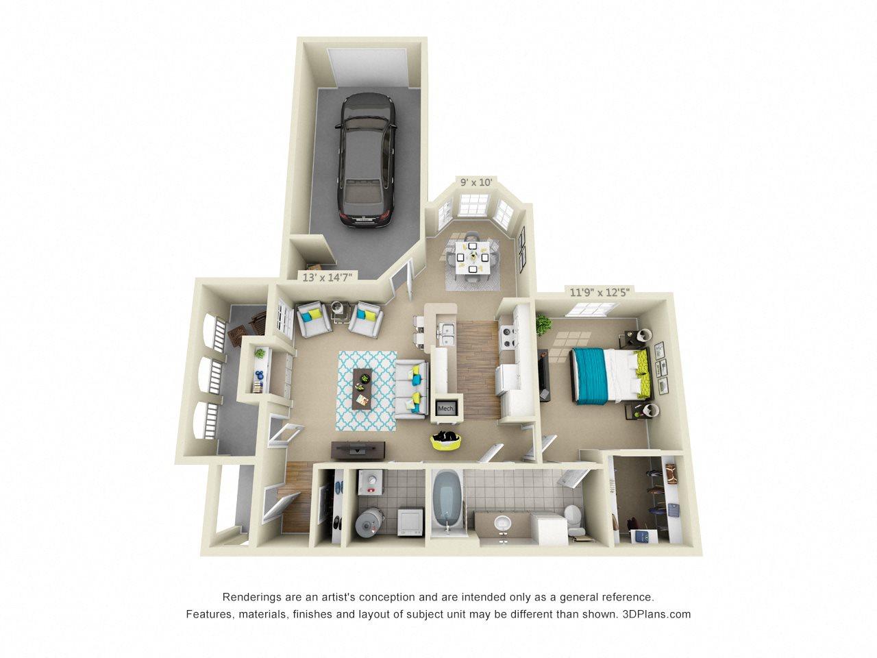 Whitehall Floor Plan 1