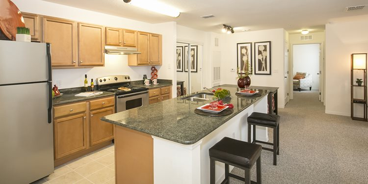 Osceola Pointe Apartments for rent in Kissimmee, FL. Make this community your new home or visit other Concord Rents communities at ConcordRents.com. Kitchen