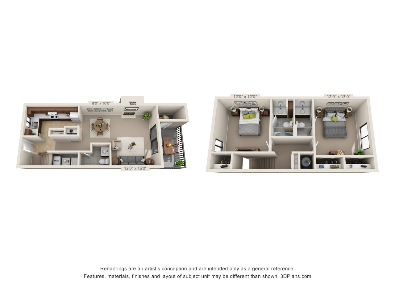 The Ruby (Townhome) Floor Plan 9