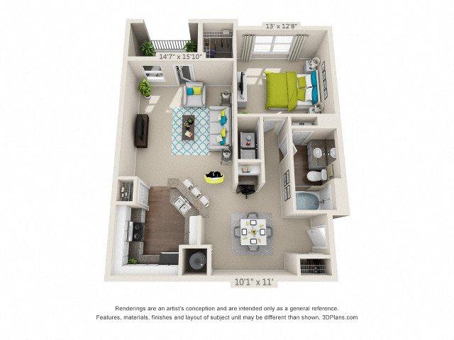 Lanier Floor Plan 2