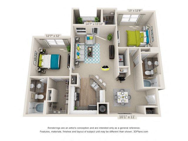 Mulberrry Floor Plan 4