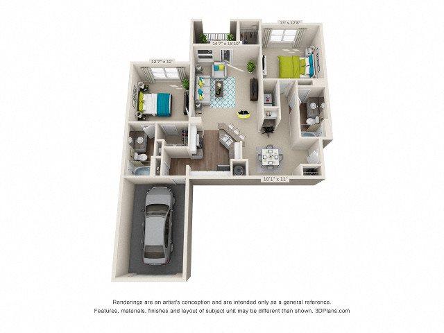Norcross Floor Plan 5