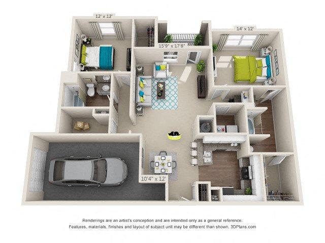 Suwanee Floor Plan 7
