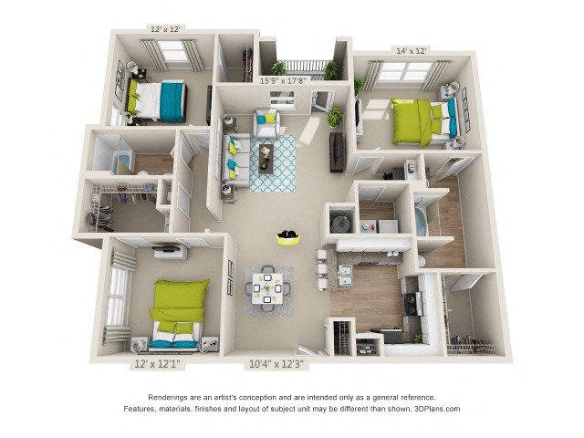 Redland Floor Plan 8