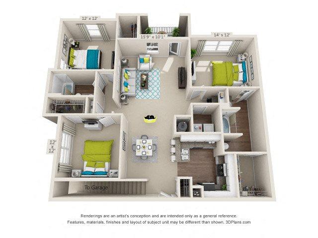 Berkeley Floor Plan 9
