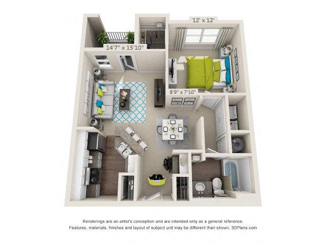 Peachtree Floor Plan 1