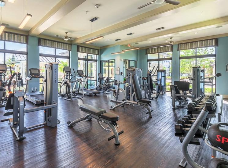 Nona Park Village Apartments - 24-hour fitness center