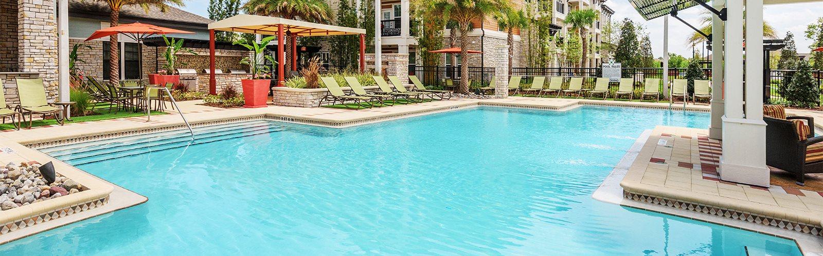 Nona Park Village Apartments pool area