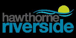 Hawthorne Riverside Property Logo & Signage New Braunfels, TX