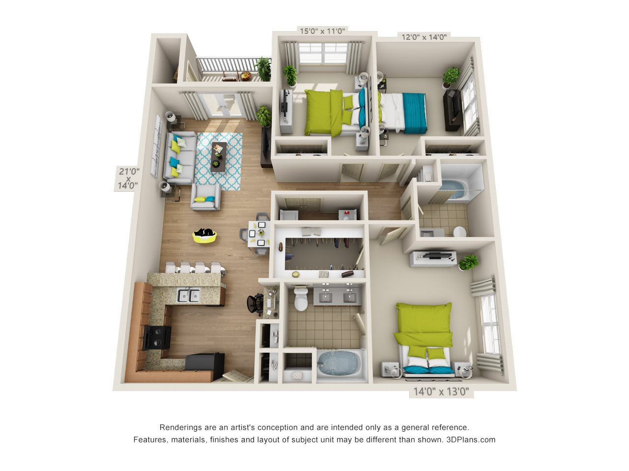 The Southport Floor Plan 5