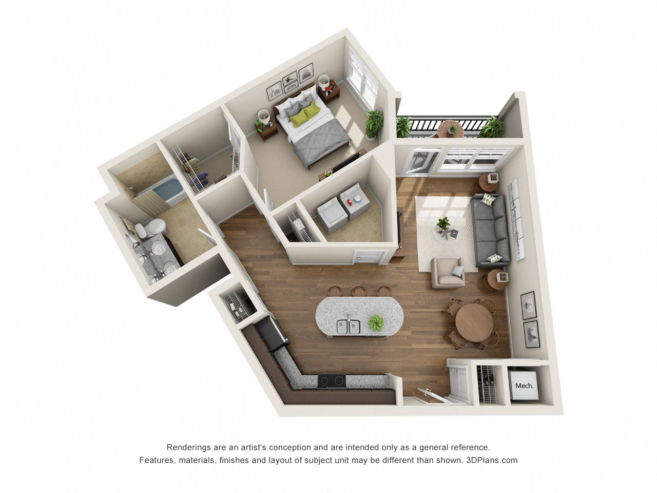 Floor Plans Of Meridian At Sutton Square In Raleigh Nc