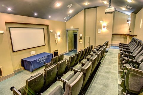 The Reserve at Mayfaire Screening Room