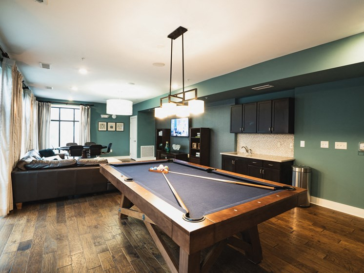 Park and Kingston Pool Table