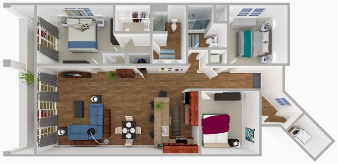 The Bahama Floor Plan 7