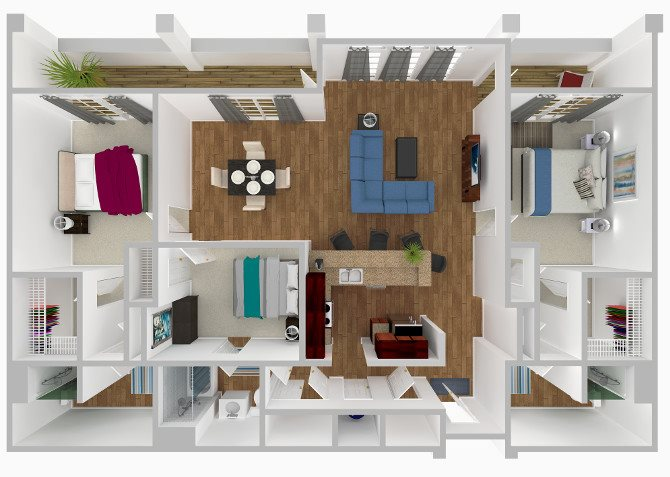 The Camellia Floor Plan 9