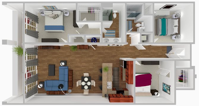 The Conch Floor Plan 6