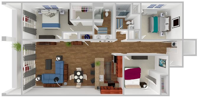 The Lumina Floor Plan 6