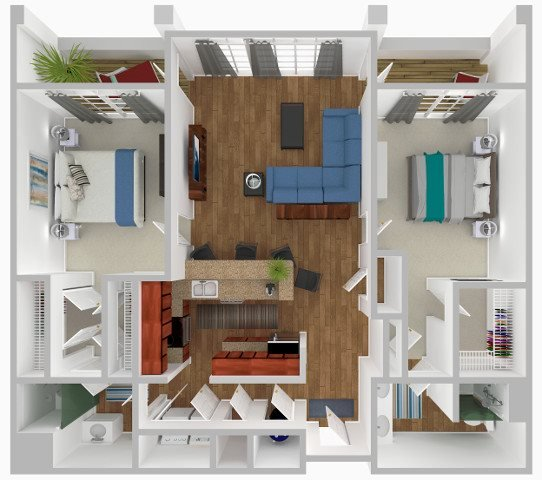 The Palmetto Floor Plan 2