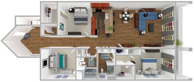 The Pembroke Floor Plan 10