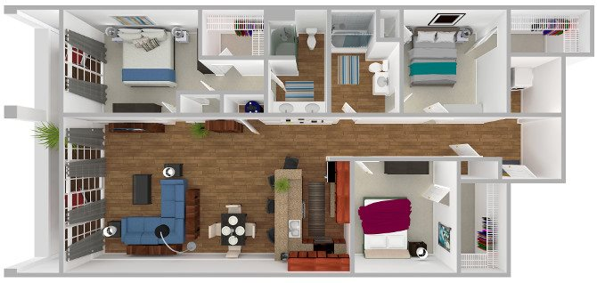 The Seagull Floor Plan 8