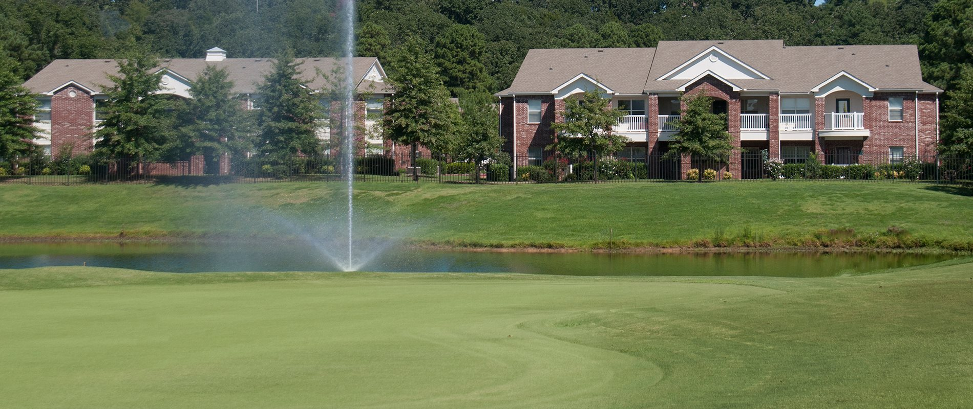 Mature Landscaping at The Links at Cadron Valley, Conway, AR 72034