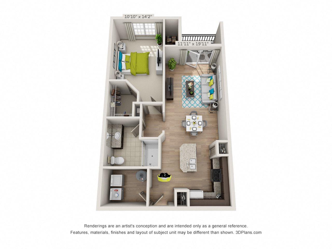 Flat Rock Floor Plan 1