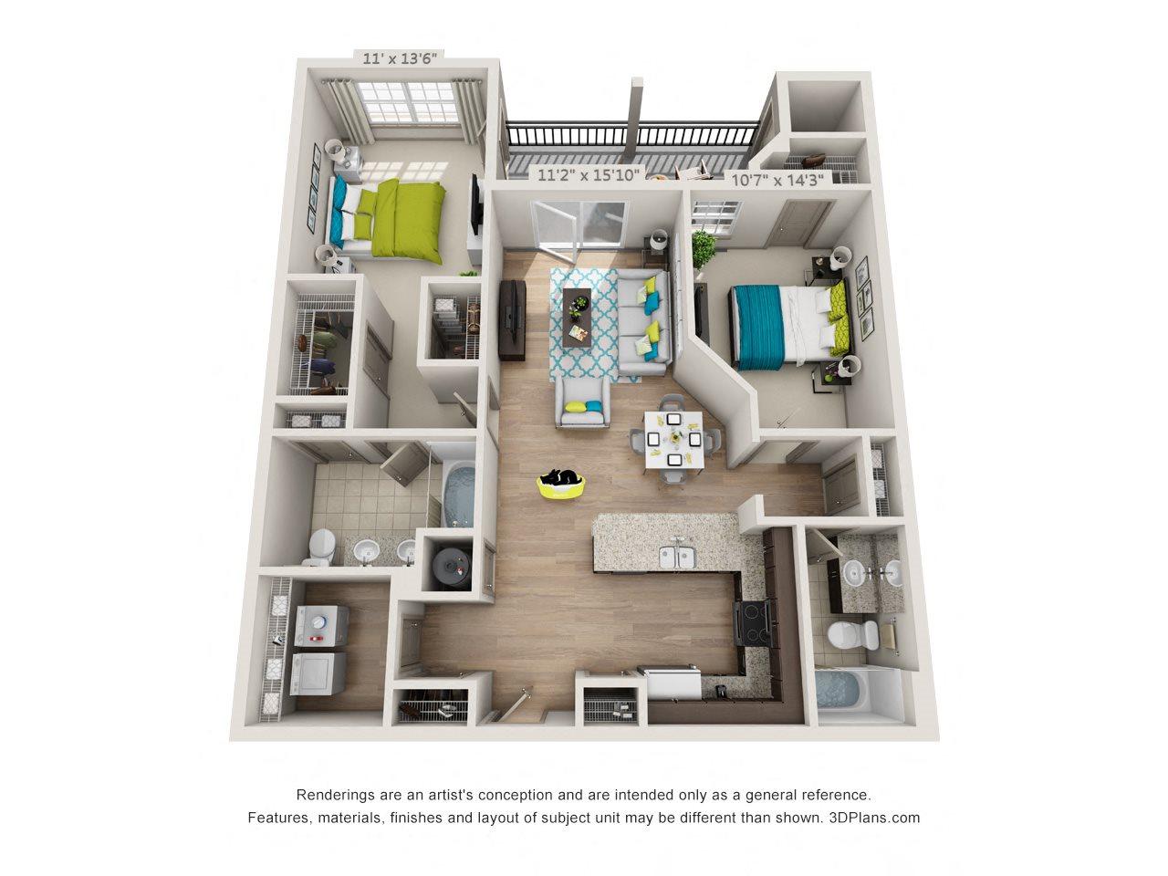 Rock Creek Floor Plan 4