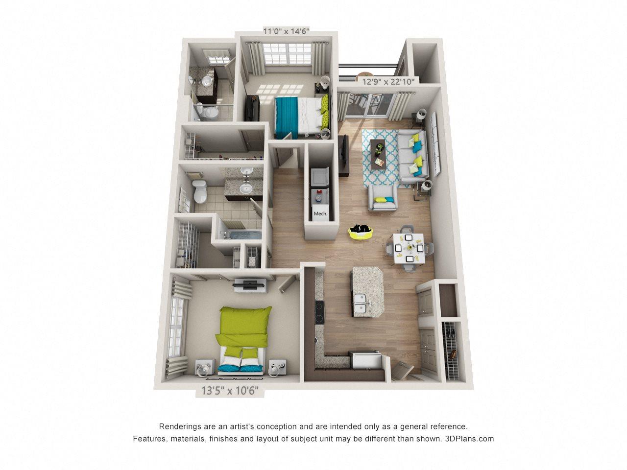 Cedar Ridge Floor Plan 2