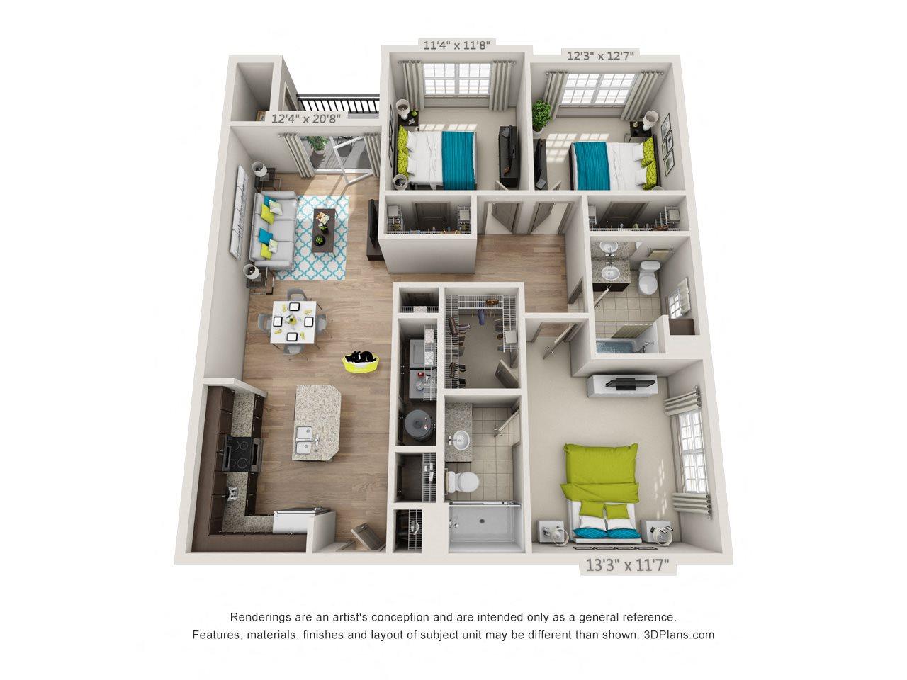 Beacon Heights Floor Plan 5
