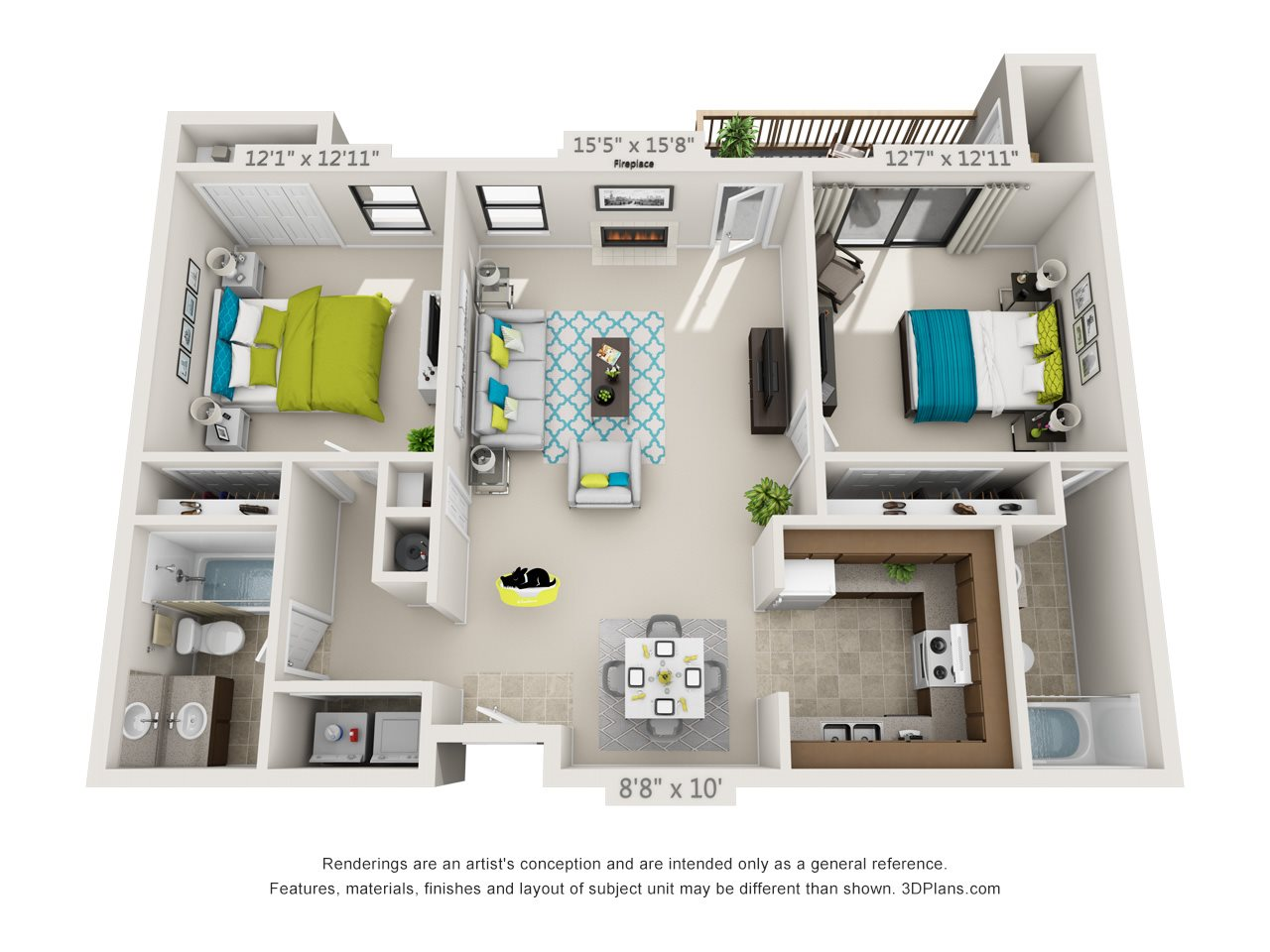 Laurel Floor Plan 3