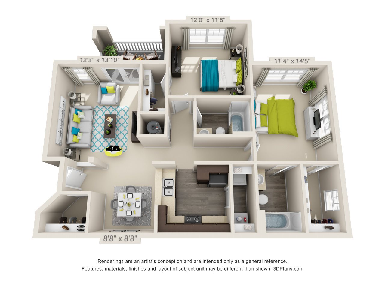 Bartlett Floor Plan 4