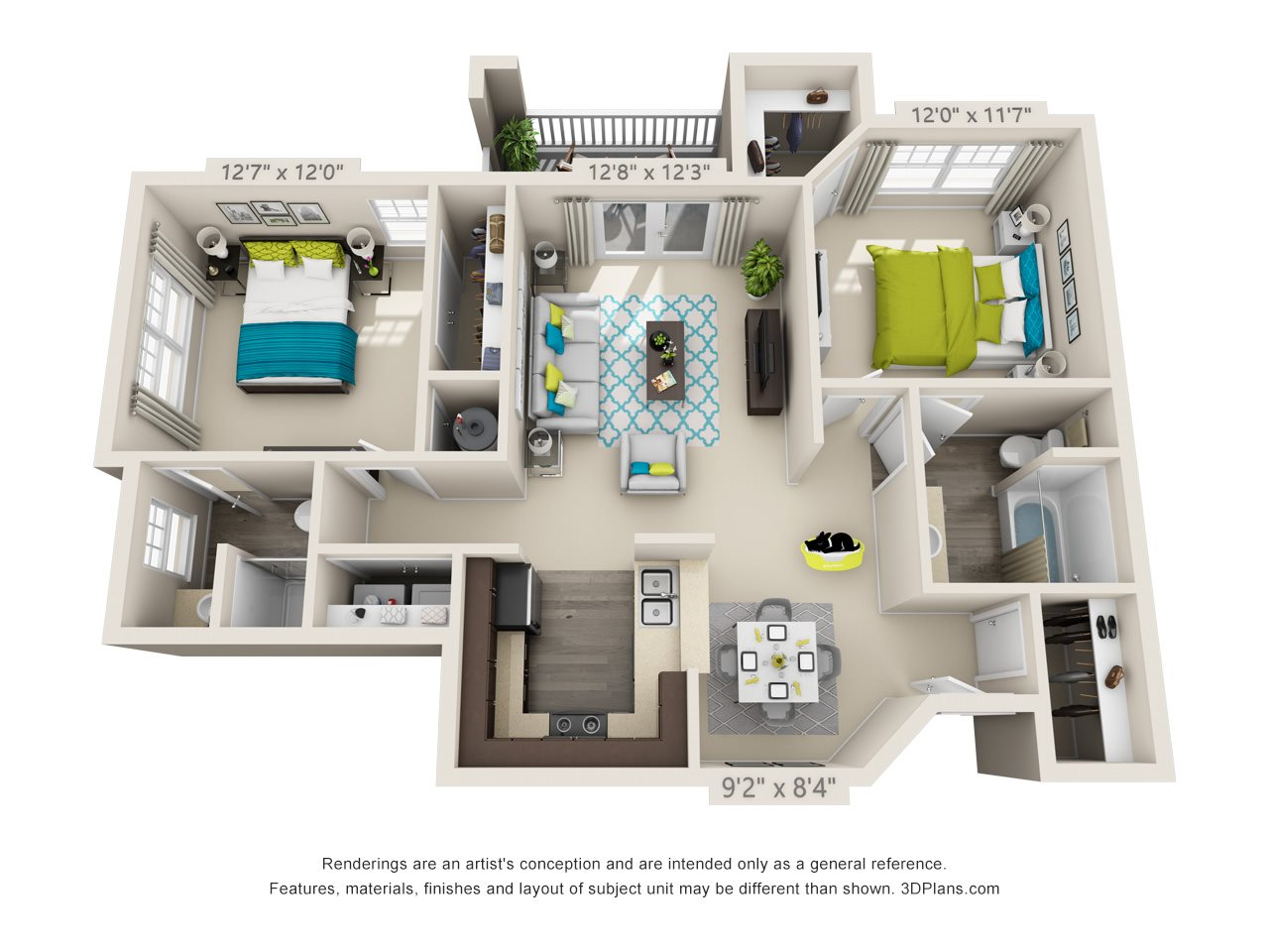 Brighton Floor Plan 3